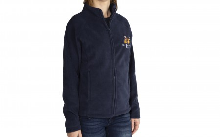 Fleece women (long zip)